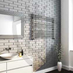 Polished Stainless Steel Towel Rail - 1000 x 800mm - Insitu