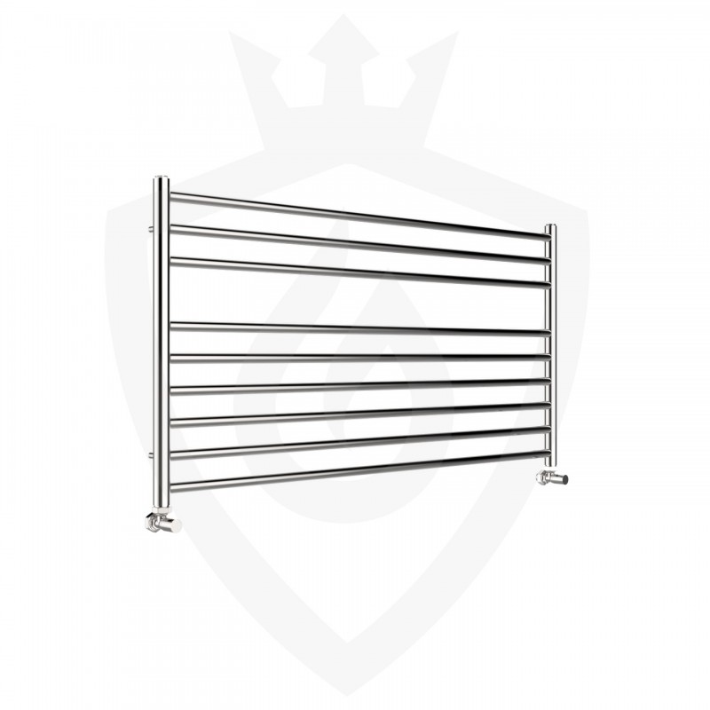 Polished Stainless Steel Towel Rail - 1200 x 600mm