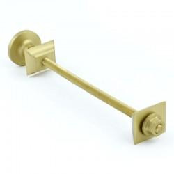 Brushed Brass Luxury Cast Iron Radiator Bracket