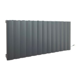 Cubo Anthracite Electric Radiator - 1304 X 500mm