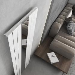 King White Mirror Designer Radiator - 610 x 1800mm