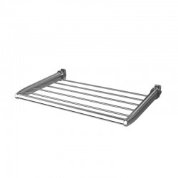 350mm(w) Chrome Towel Shelf