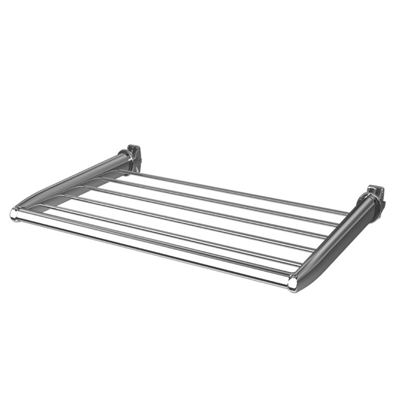450mm(w) Chrome Towel Shelf