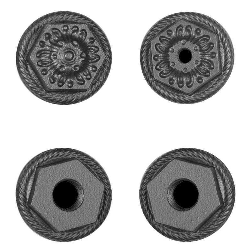 Decorative End Caps (Set of 4)