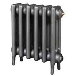 Victoriana 3 Column Cast Iron Radiator - 450mm High - 3 Quarter View