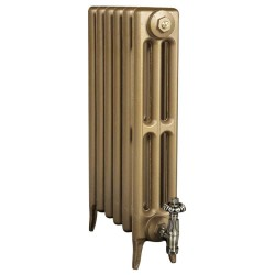 Victoriana 3 Column Cast Iron Radiator - 645mm High - 3 Quarter View