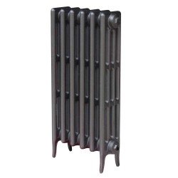 Victoriana 4 Column Cast Iron Radiator - 760mm High - 3 Quarter View