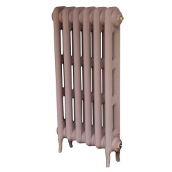 Pimlico 2 Column Cast Iron Radiator - 760mm High - Cinder Rose