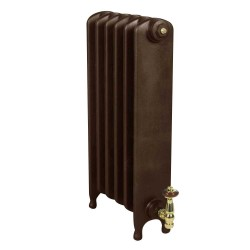 Clarendon Cast Iron Radiator - 740mm High - Old Penny