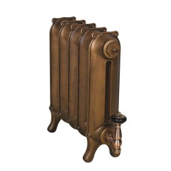 Sloane Cast Iron Radiator - 450mm High - Antiqued Copper