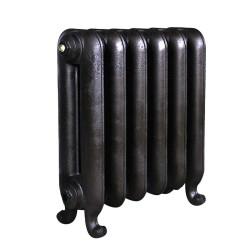 Bartholomew Cast Iron Radiator - 570mm High - Anthracite