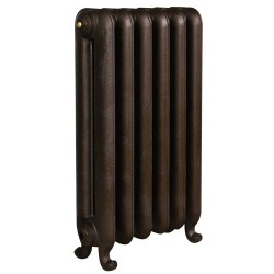 Bartholomew Cast Iron Radiator - 740mm High - Old Penny