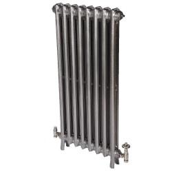 Neo Georgian 2 Column Cast Iron Radiator - 1040mm High - Polished Finish