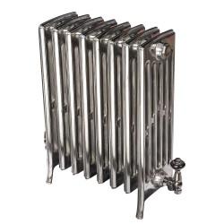 Neo Georgian 6 Column Cast Iron Radiator - 660mm High - Polished