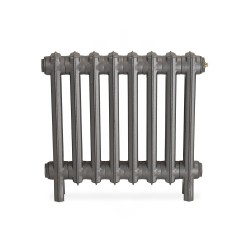 Neo Georgian 2 Column Cast Iron Radiator - 490mm High - Front View
