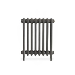 Neo Georgian 4 Column Cast Iron Radiator - 660mm High - Front View