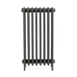 Neo Georgian 6 Column Cast Iron Radiator - 960mm High - Front View