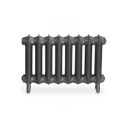 Sloane Cast Iron Radiator - 450mm High - Front View