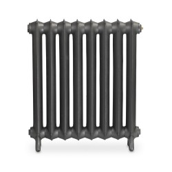 Sloane Cast Iron Radiator - 750mm High - Front View