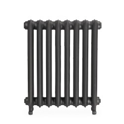 Bartholomew Cast Iron Radiator - 740mm High - Front View