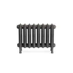 Piccadilly Cast Iron Radiator - 460mm High - Front View