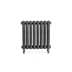 Piccadilly Cast Iron Radiator - 660mm High - Front View