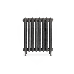Piccadilly Cast Iron Radiator - 760mm High - Side View