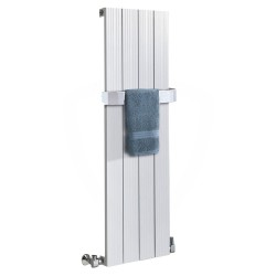 Sovereign White Aluminium Radiator - 375 x 1200mm