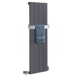 Sovereign Anthracite Aluminium Radiator - 375 x 1200mm