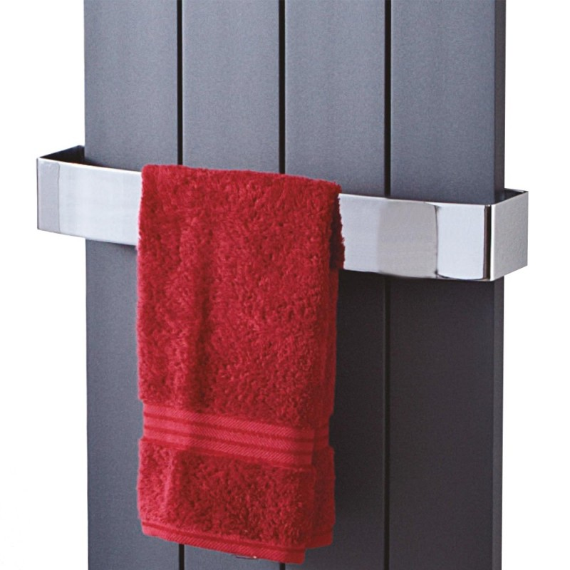 Chrome Towel Bar for Sovereign Single Radiators