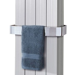 Chrome Towel Bar for Sovereign Double Radiators