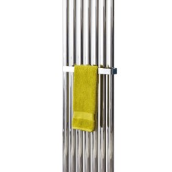 380mm Chrome Towel Bar for Phoenix Radiators