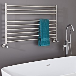Polished Stainless Steel Towel Rail - 1200 x 600mm - Insitu