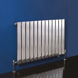 Sultan Chrome Designer Radiator - 1000 x 600mm - Installed