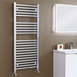 Phoenix Sophia Chrome Designer Towel Rail - 500 x 1200mm - Installed