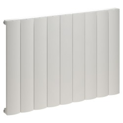 Kudox Alulite Arc White Designer Radiator - 850 x 600mm