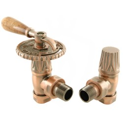 Canterbury Lever Manual Valves Antique Copper