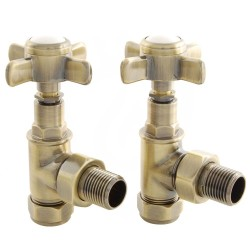 Lambeth Manual Valves Antique Brass