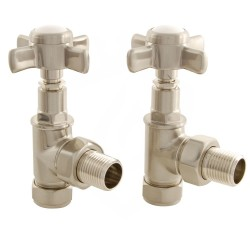 Lambeth Manual Valves Brushed Nickel