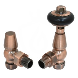 Belgravia Angled Valves Antique Copper