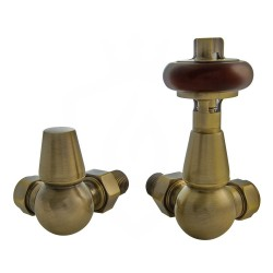 Belgravia Corner Valves Antique Brass