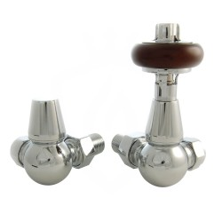Belgravia Corner Valves Chrome