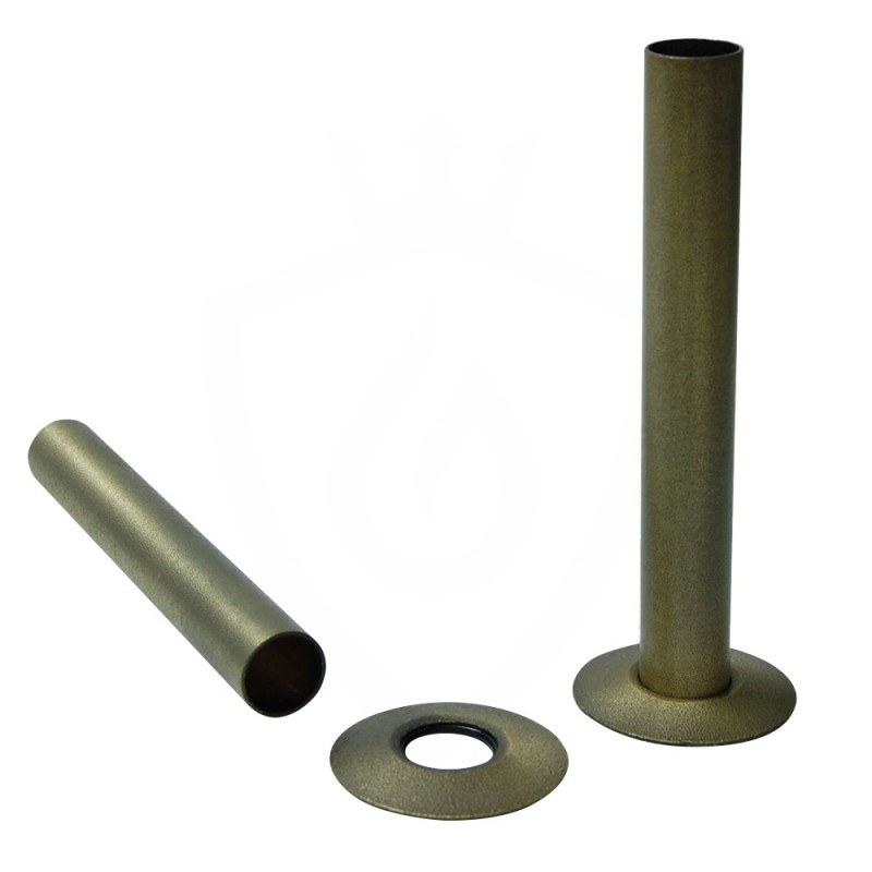 Old English Brass Pipe Shrouds & Collars