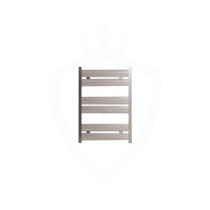 Carisa Soho Polished Aluminium Designer Towel Rail - 500 x 715mm