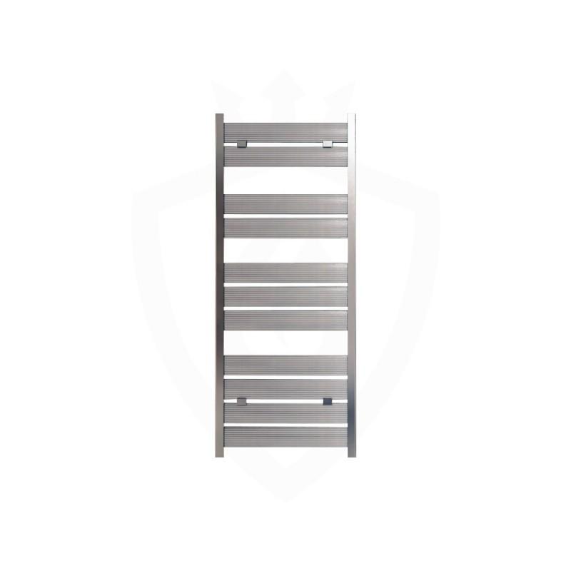 Carisa Soho Polished Aluminium Designer Towel Rail - 500 x 1225mm