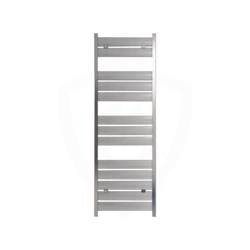 Carisa Soho Polished Aluminium Designer Towel Rail - 500 x 1480mm