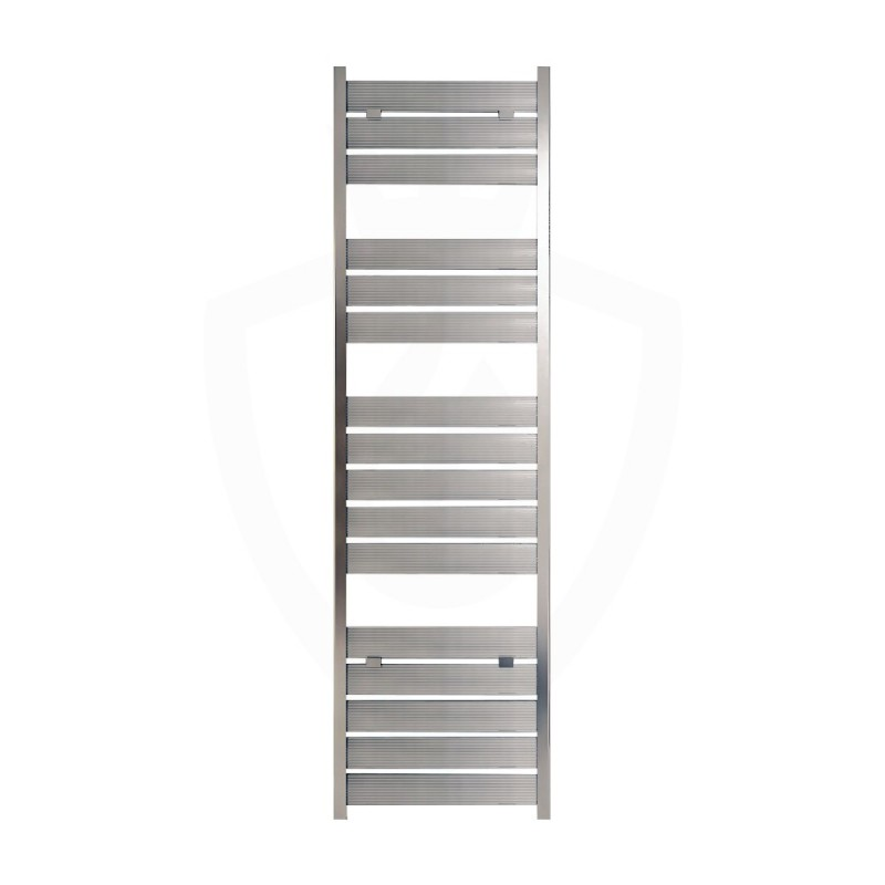 Carisa Soho Polished Aluminium Designer Towel Rail - 500 x 1735mm