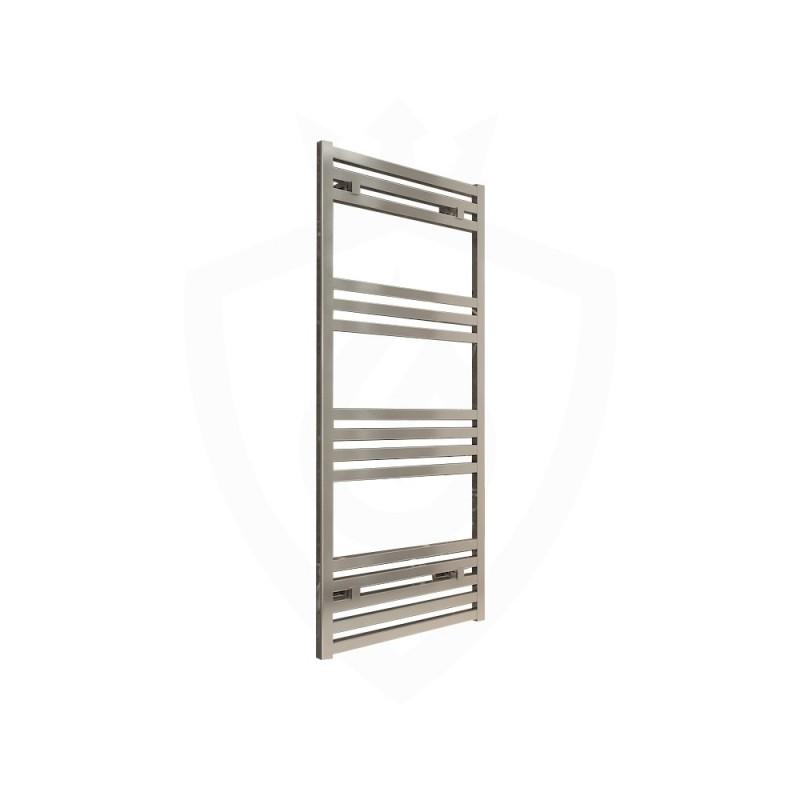 Carisa Fame Polished Aluminium Designer Towel Rail - 500 x 1220mm