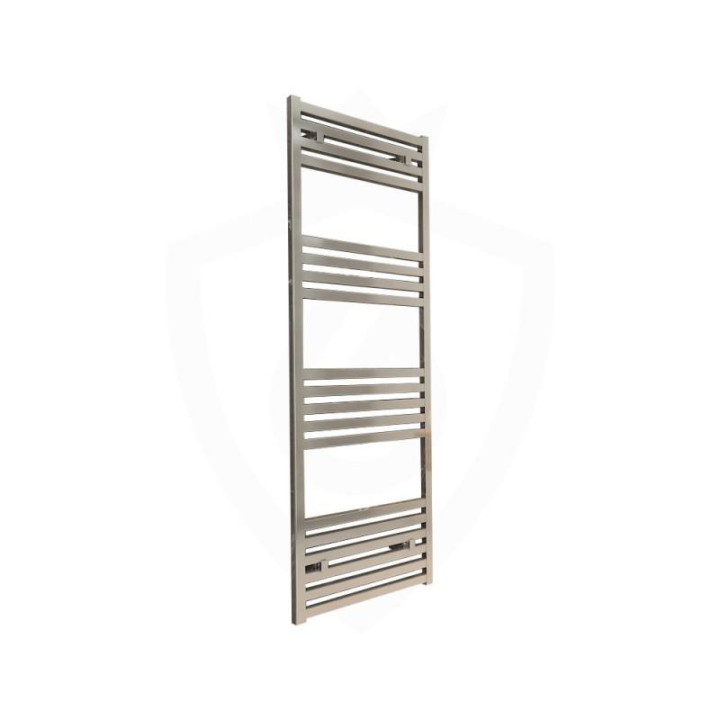 Carisa Fame Polished Aluminium Designer Towel Rail - 500 x 1460mm