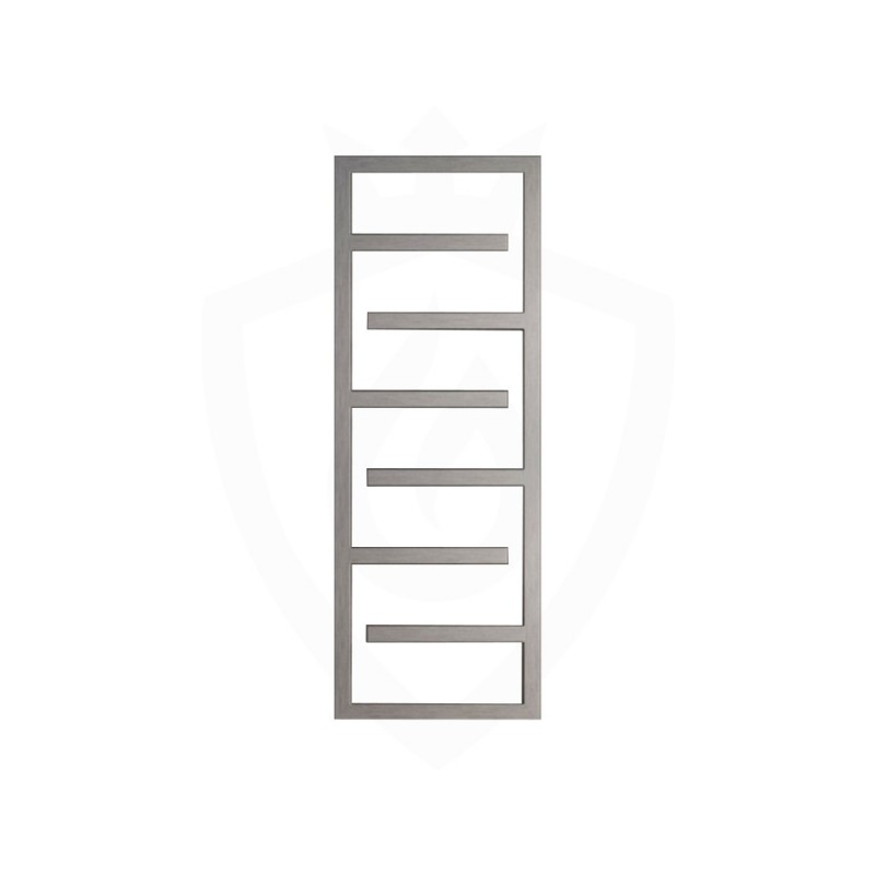 Carisa Eclipse Brushed Stainless Steel Designer Towel Rail - 500 x 1370mm